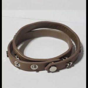 Stella dot chevron double wrap bracelet